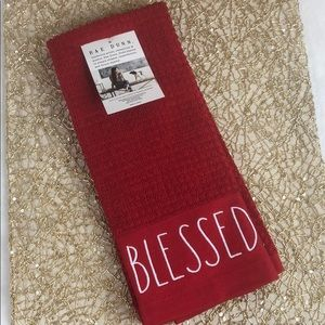 Rae Dunn BLESSED hand towels